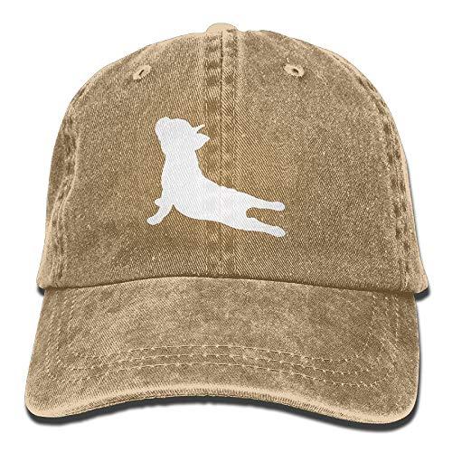 Nartist Pillow Bulldog francés yoga béisbol sombrero hombres y mujeres verano sombrero de viaje protector solar gorra pesca al aire libre