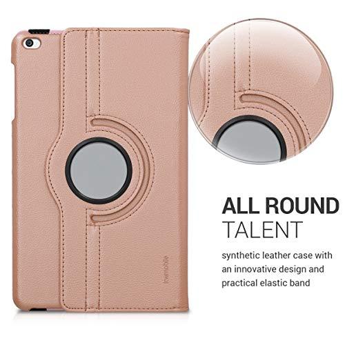 Huawei MediaPad T1 10 Hülle – 360° Tablet Schutzhülle Cover Case für Huawei MediaPad T1 10 – Rosegold - 3