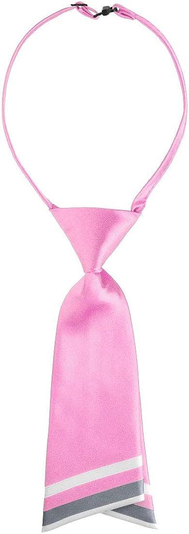 Allegra K Pre-tied Bowtie for Women Uniform Necktie Adjustable Strap Striped