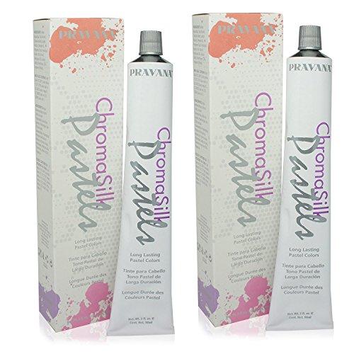 PRAVANA ChromaSilk Pastels (Luscious Lavender) 3 Oz - 2 Pack