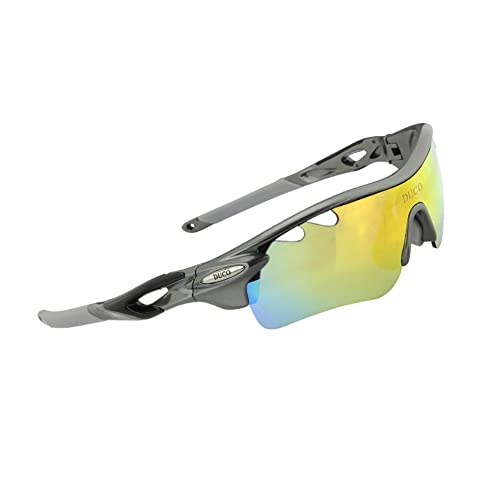 16d290ba08b POLARIZED Sports Sunglasses Cycling Glasses With 5 Interchangeable Lenses