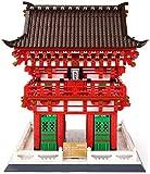 hsj LF- Model Kits weltberühmte Wahrzeichen Architektur Kiyomizu-Tempel Bausteine Sets, Nano Mini Bausteine Kits Kids, BAU Educational DIY Spielzeug Geschenke Lernen
