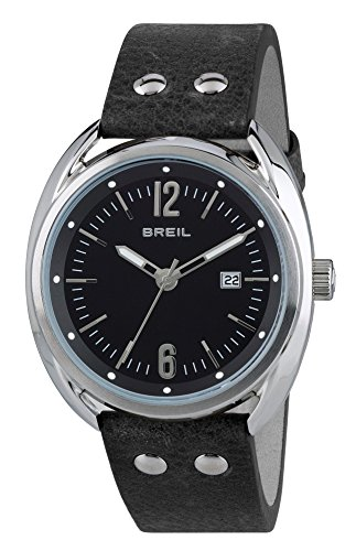 Breil Reloj Analogico para Hombre de Cuarzo con Correa en Cuero TW1669