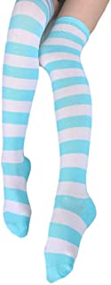 Hot Cute Japanese Style Blue&pink Stripe Panties Bikini Cosplay Cotton Underwear