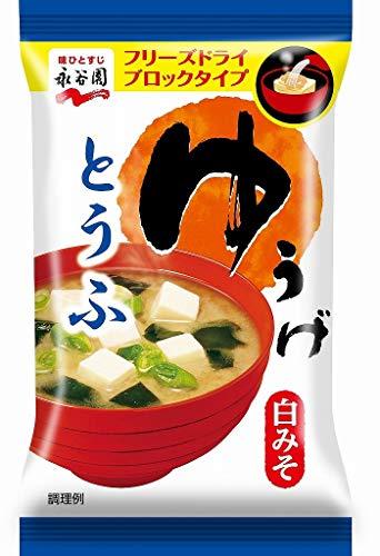 《セット販売》 永谷園 FDブロック ゆうげ とうふ (1食)×6個セット インスタントみそ汁 豆腐
