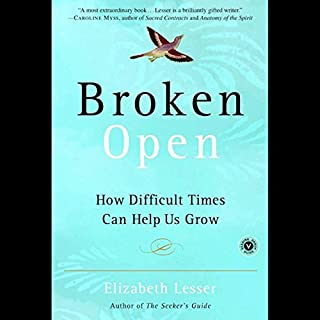 Broken Open audiobook cover art