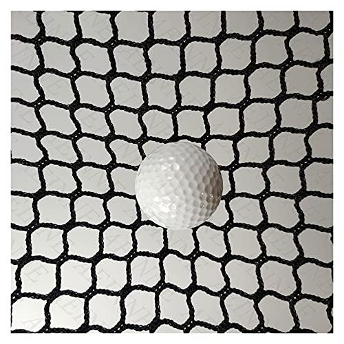 AEINNE Indoor Golf Net, Net Material Golf Barrier Net for Backyard Backstop Netting Replacement Soccer Goal Rebounder Net Lacrosse Back Stop Sports Nets Baseball Hockey Net Netting Field Fence, Black