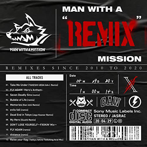 "[album]MAN WITH A ""REMIX"" MISSION – MAN WITH A MISSION[FLAC + MP3]"