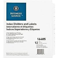 bsn16485–ビジネスソースカスタマイズインデックスDivider