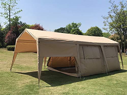 Cozy house Double Couche imperméable Tente de carlingue d'hôtel de Camping de Tente de Glamping de Safari