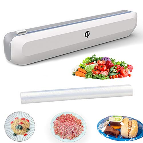 leQuiven Plastic Wrap Dispenser with Slide Cutter