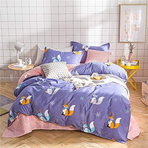 huyiming bed linings Verwendet für Aloe Vera Baumwolle vierteiliges Bettlaken, Bettbezug 1,8 m vierteiliges Set