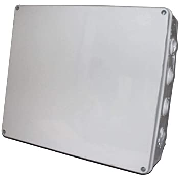 IP65 resistente al agua caja de derivación eléctrica (400 x 350 x 120 mm): Amazon.es: Industria, empresas y ciencia