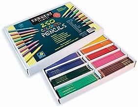 Sargent Art 250-Count Colored Pencil Class Pack, Best Buy Assortment, 22-7200