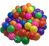 DIVCHI 100PCS Soft Plastic Mini Play Balls Multi Vibrant Colors - Crush Proof, No Sharp Edges, Non Toxic, Phthalate & BPA Free - Use in Baby or Toddler Ball Pit (100PCS)