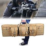 Eortzzpc Bolsa De Transporte para Armas De Caza, Caza Escopeta Gun Rifle Bolsa De Almacenamiento para Guardar Rifle, Pistola, Caña Pescar (Size : 93x31CM/36x12in)