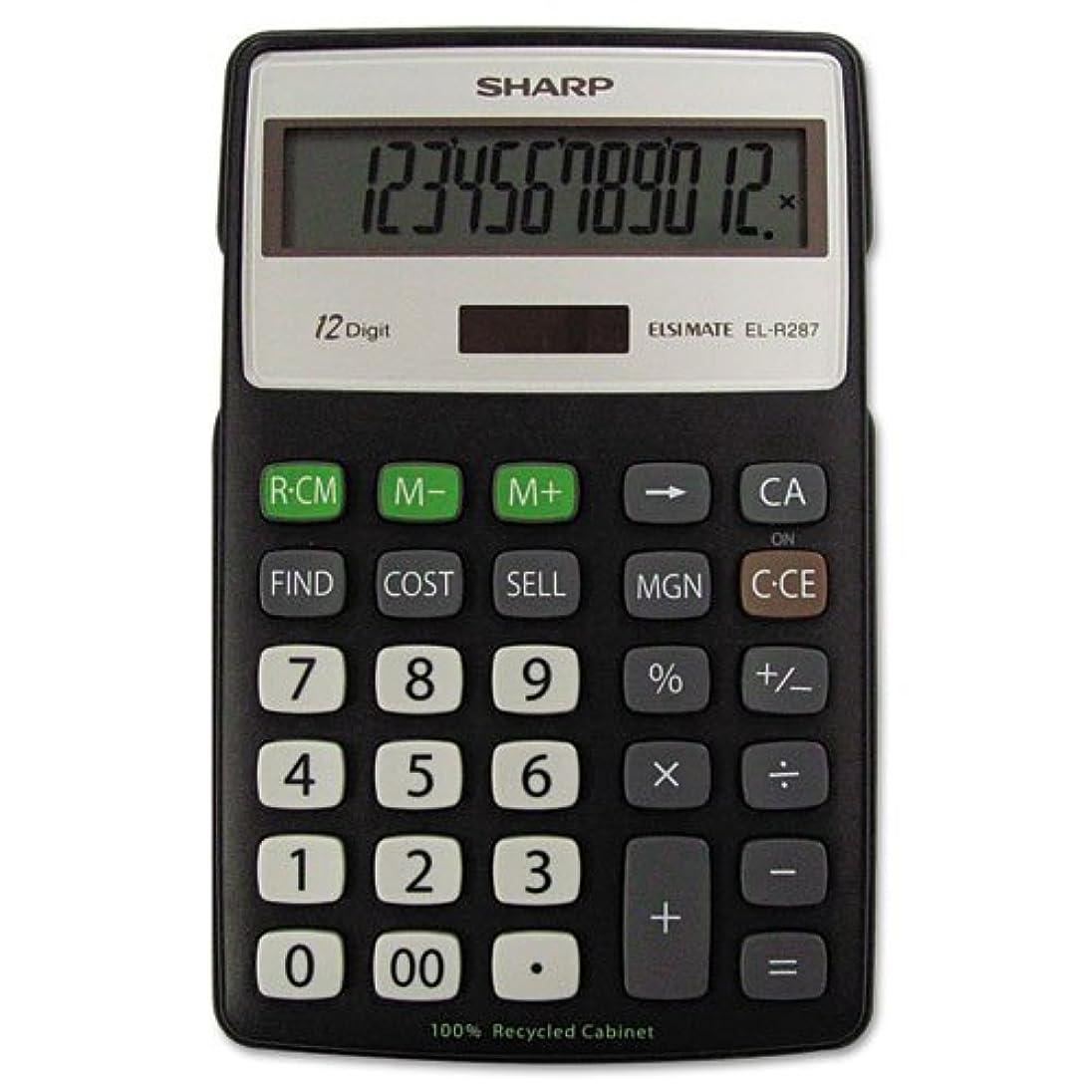 以来ねばねばファンタジーshrelr287bbk?–?Sharp elr287リサイクル電卓