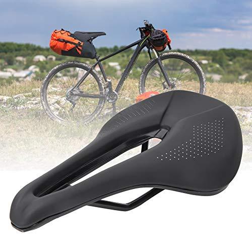 Changor Sillín de Bicicleta Negra, con Piel de Ciclismo de Ciclismo de Ciclismo de Ciclismo de Ciclismo de Ciclismo
