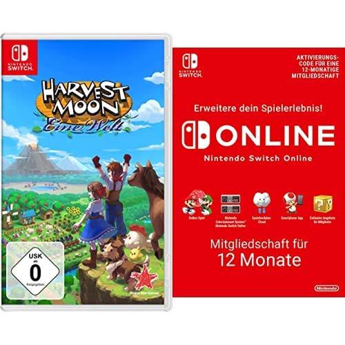Harvest Moon: Eine Welt [Nintendo Switch] + Nintendo Switch Online Mitgliedschaft - 12 Monate   Switch Download Code