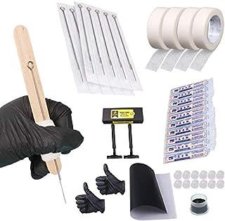 Hand Poke and Stick Tattoo Kit - Clean & Safe Stick & Poke Tattoos DIY-SZ