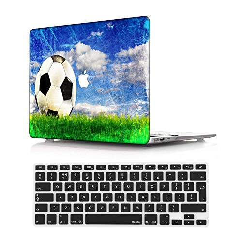 NEWCENT MacBook Pro 13' Funda,Plástico Ultra Delgado Ligero Cáscara Cubierta EU Teclado Cubierta para MacBook Pro 13 Pulgadas con Touch Bar Touch ID 2020 Versión(Modelo:A2289/A2251),Creativo A 122