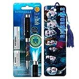 Conjunto de canetas para projetor de Riverdale da InkWorks com marcador de livro licenciado separadamente (materiais de escritório Riverdale, mercadorias)