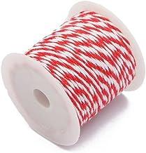 Katoenen Koorden Naaigaren Tweekleurig 10 m/Roll DIY Bruiloft Decor Supply Handgemaakte Artisan String Touw Craft Twisted ...