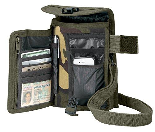 Rothco Canvas Travel Portfolio Bag, Woodland Camo