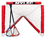 Mylec Mini Lacrosse Goal Set, White