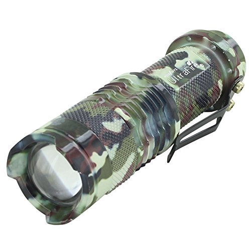 CREE Q5 600 Lumen Mini LED Flashlight 3-Mode Adjustable Pocket Torch UltraFire