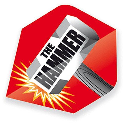 Unbekannt Unicorn Authentic 75 Andy Hamilton Dart Flights Plus Motiv Hammer