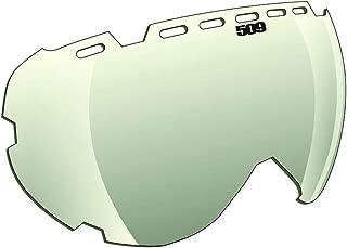 509 Aviator Snowmobile Lens - Crome/Yellow
