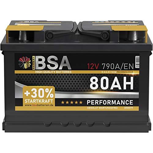 BSA 12 Volt 790A/EN Autobatterie