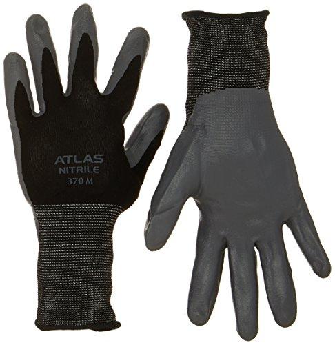 Wonder Grip Cut Resistant Gloves - Large, Gray/Black
