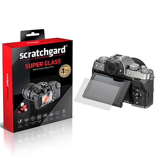 Scratchgard Unbreakable Hybrid Nano Glass (Stronger Than Tempered Glass) Flexible Film Camera Screen Protector for Fujifilm X-T200