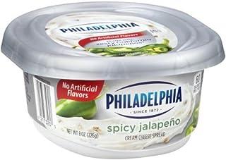 Philadelphia Spicy Jalapeno Cream Cheese Spread, 8 Ounce -- 12 per case.