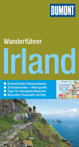 DuMont Wanderführer Irland: Mit 35 Routenkarten und Höhenprofilen
