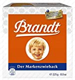 Brandt Der Markenzwieback ( Rusk Bread ) - 225 G