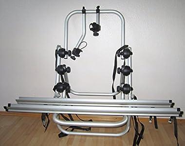 Fabbri 6201800 Portabicicletas trasero, capacidad para 2 bicicletas