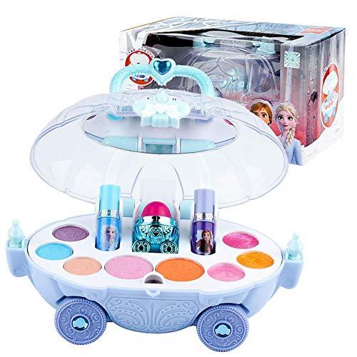 hook.s Kit de Maquillaje Frozen, Juguetes de Maquillaje de Juego de imaginación, Juego de Maquillaje Frozen para niñas