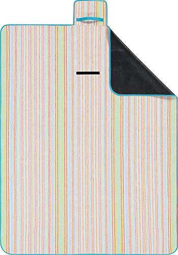 biederlack Picknickdecke bunt Größe 130x170 cm
