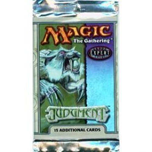 Magic the Gathering MTG Judgment Sealed Booster Pack Out of Print