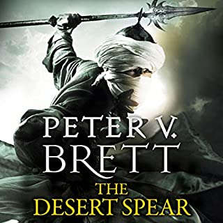 The Desert Spear     The Demon Cycle, Book 2              By:                                                                                                                                 Peter V. Brett                               Narrated by:                                                                                                                                 Colin Mace                      Length: 24 hrs and 58 mins     308 ratings     Overall 4.7