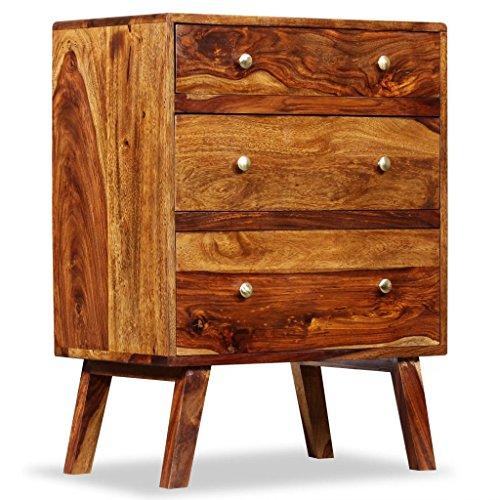 WEILANDEAL Deze kast van Sheesham massief hout 60 x 35 x 76 cm. Dit product is zeer robuust en duurzaam. keukenkast. Modern dressoir, sideboard, sideboard, sideboard, keukenkast, keukenkast, keukenkast, keukenkast.