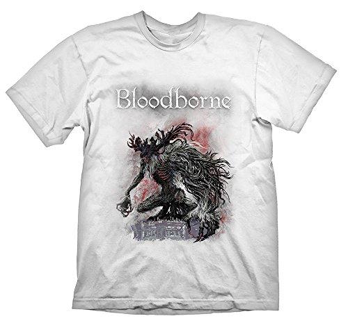 Bloodborne T-Shirt Bossfight White M
