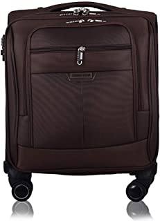 Trolley Case Business Trolley Case with Laptop Compartment Hand Luggage Suitcase, Lightweight Travel Carry On Cabin with 4 Wheels, Expandable Travel Luggage, Approved for Cabin Size for Most Airlines