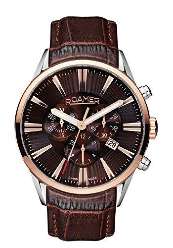 Roamer Herren-Armbanduhr Chronograph Quarz 508837 41 65 05