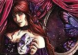 Editions Ricordi 2801N24024 - - Puzzle de 1000 Piezas del Cuadro Scarlet Gothica:Baile de máscaras