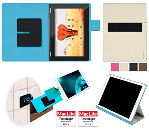 reboon Hülle für Archos 94 Magnus Tasche Cover Case Bumper | in Beige | Testsieger