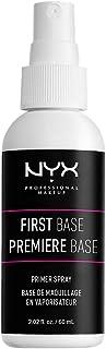 NYX PROFESSIONAL MAKEUP First Base Primer Spray, Vegan Face Primer